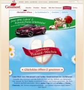 Geramont Gewinnspiel Startseite 2015