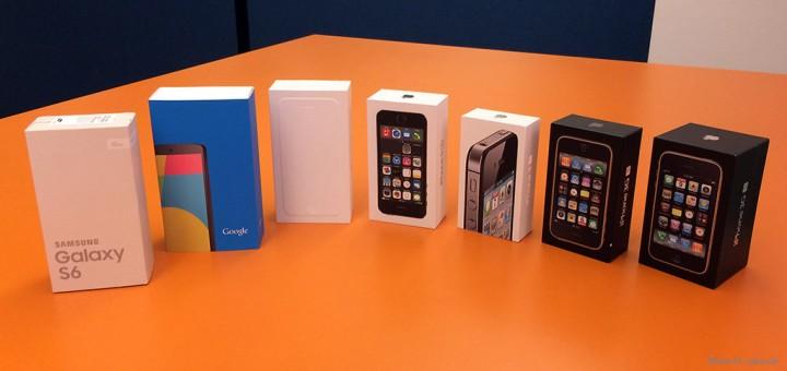 Neue Apple und Samsung Handys günstige Tarife