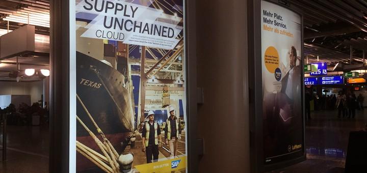Plakatwerbung und Citylights mit Mehrwert gestalten am Beispiel SAP und Lufthansa